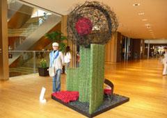 Flower Art at Tokyo Midtown 2011 スタジオロイム
