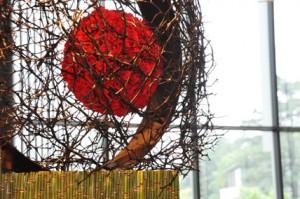 アートフラワーコンクール 東京ミッドタウン2011 完成